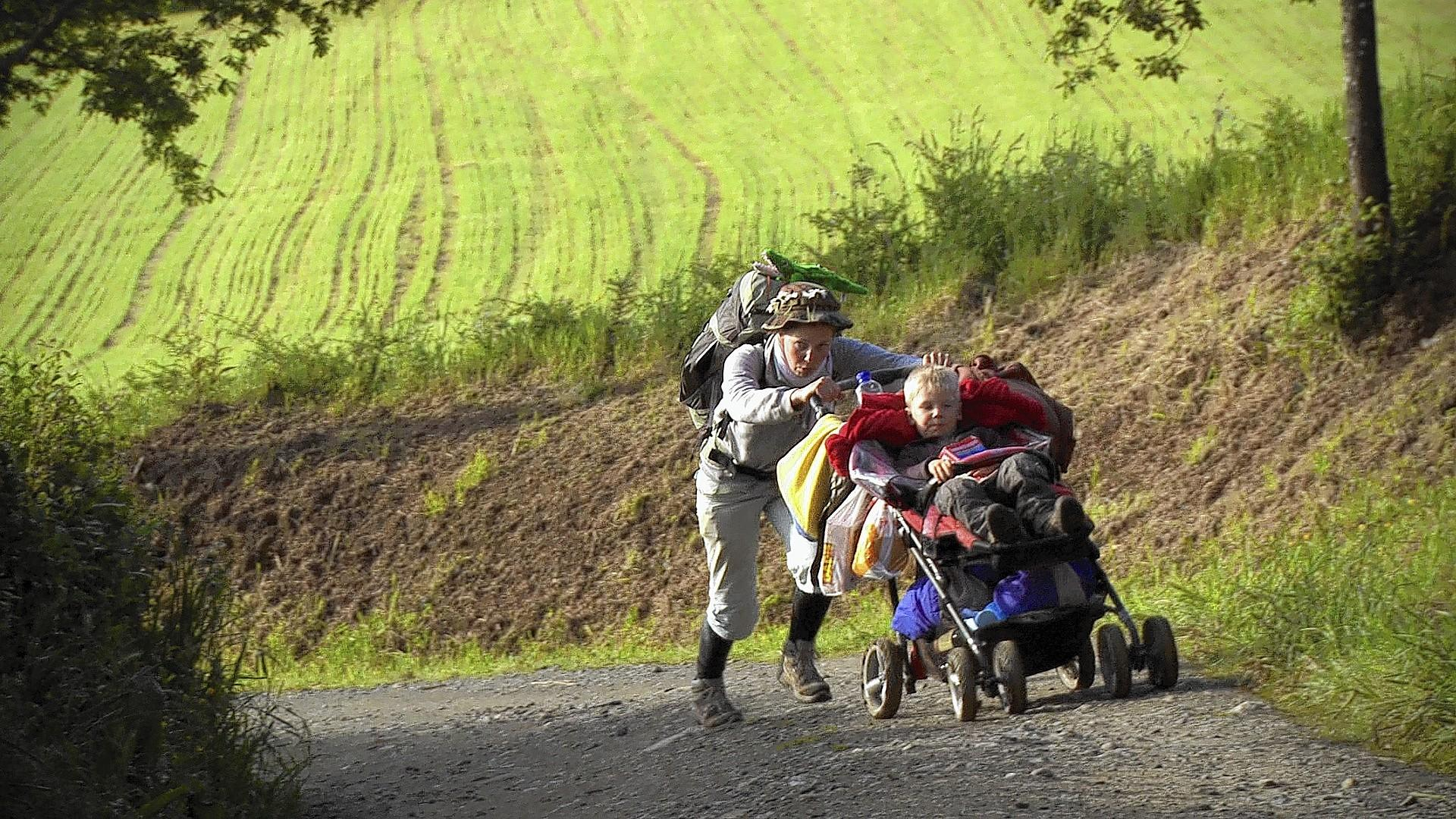 """Scene from the film """"Walking the Camino: Six Ways to Santiago."""""""