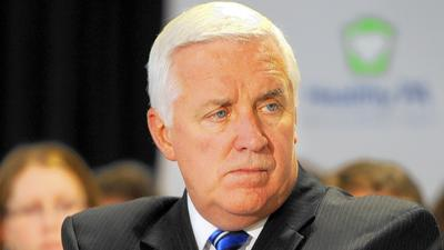 Corbett signs $29 billion budget, slams lawmakers over pension inaction