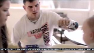 Video: Wounded warrior, quadruple amputee Travis Mills: 'I'm not a sob story'
