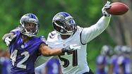 Ravens rookie linebacker C.J. Mosley making bid to start immediately