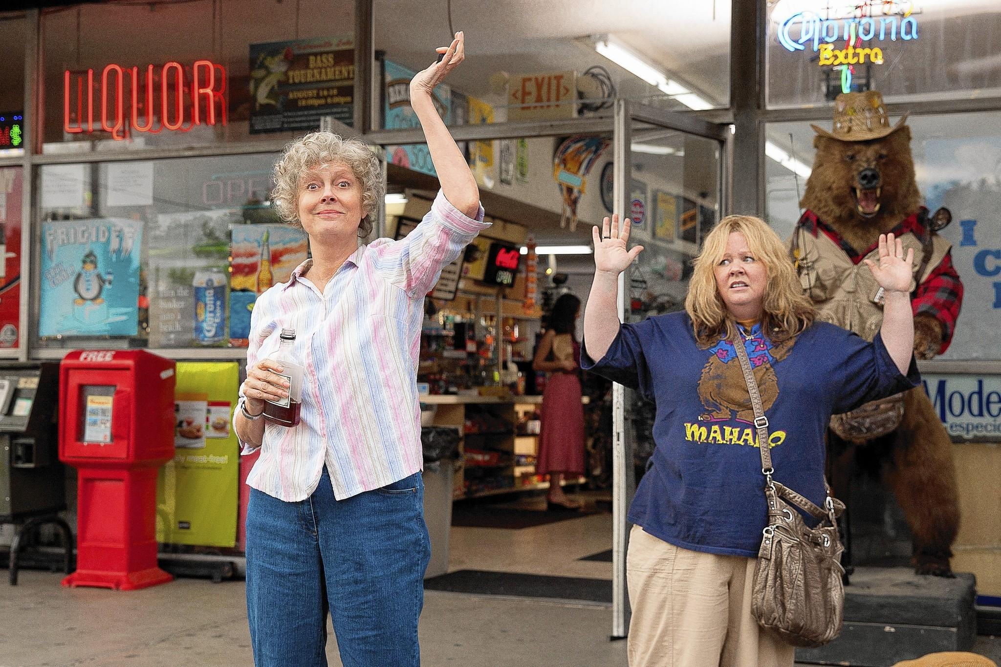 "Susan Sarandon and Melissa McCarthy in ""Tammy."""