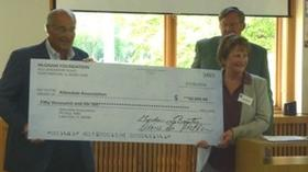 ALLENDALE ASSOCIATION RECEIVES GRANT FROM McGRAW FOUNDATION