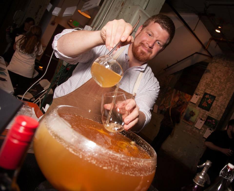 B&O American Brasserie head bartender and mixologist Brendan Dorr.