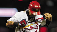 Cardinals lose Yadier Molina for 8-12 weeks