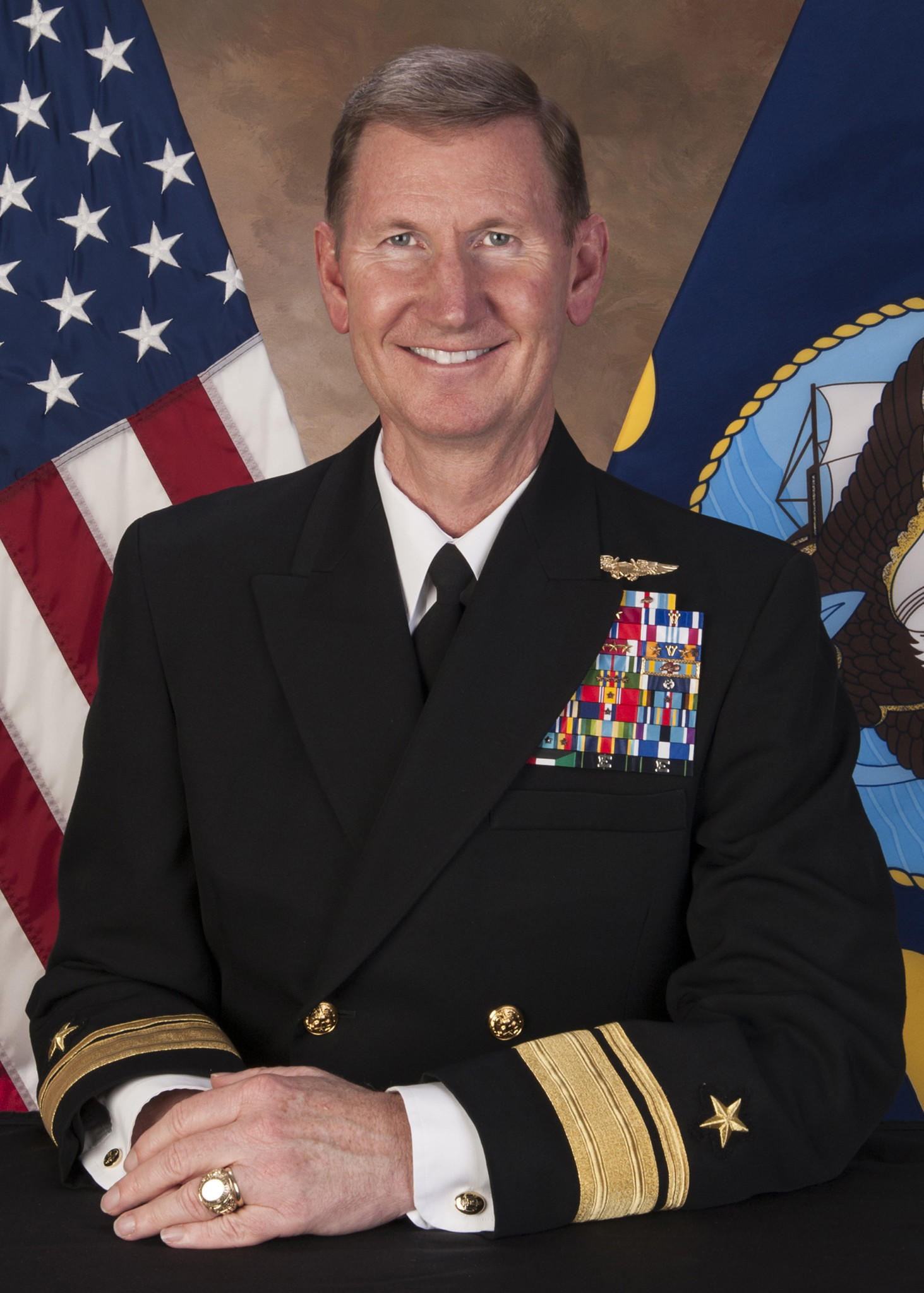 "Rear Adm. Walter E. ""Ted"" Carter Jr., president of the U.S. Naval War College and nominee to be superintendent of the U.S. Naval Academy."