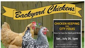 Chicken Keeping for City Folks @ Deerfield Public Library