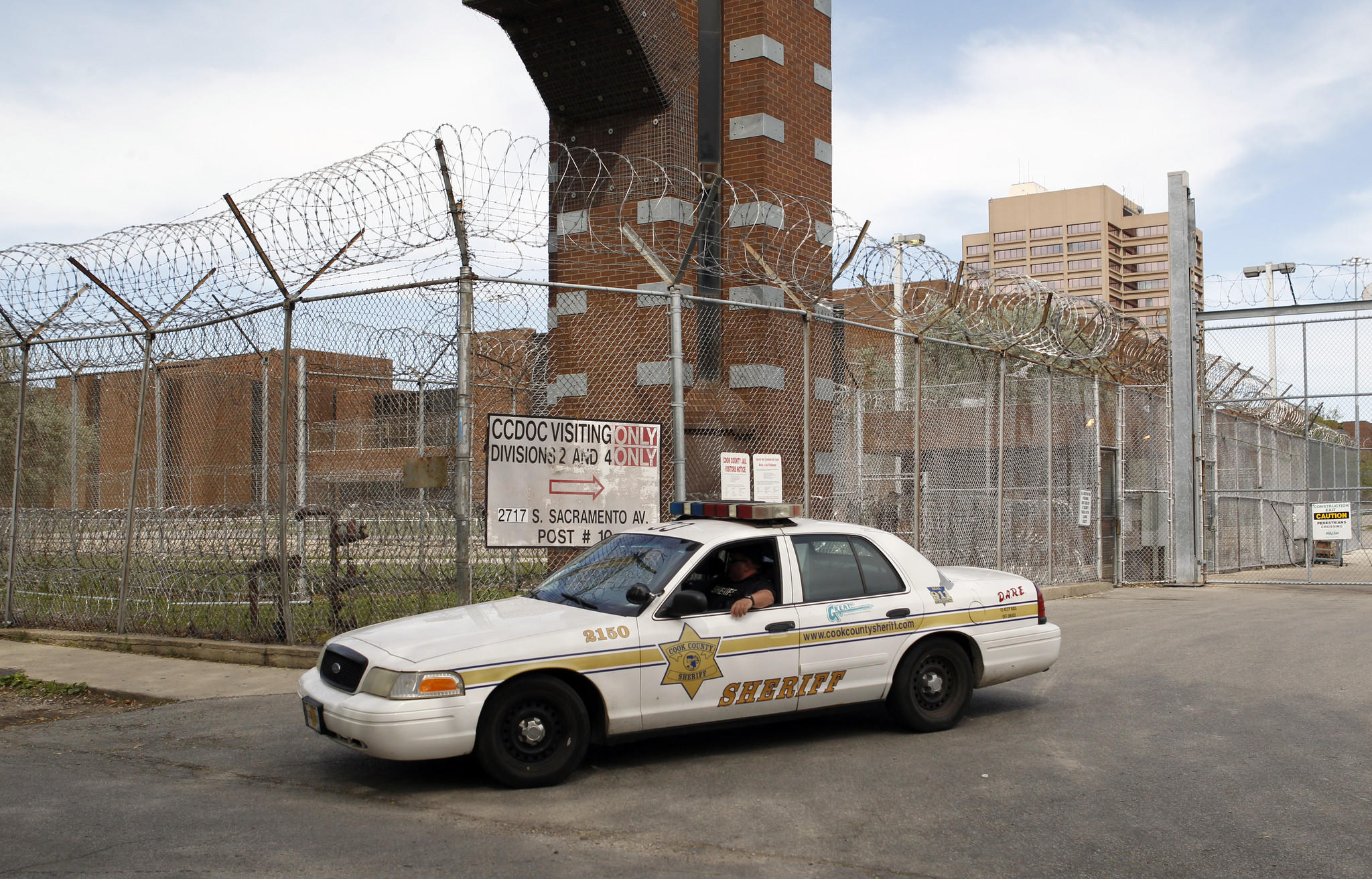 The Cook County Jail, in Chicago.