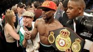 Floyd Mayweather Jr. announces Sept. 13 rematch vs. Marcos Maidana