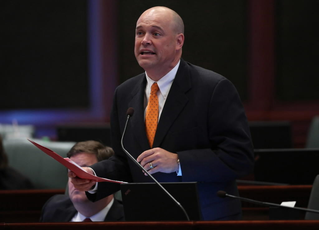 Republican Rep. Ron Sandack of Downers Grove said a legislative panel could press ahead with a probe of state grants. Then the feds sent a letter asking lawmakers to stand down.