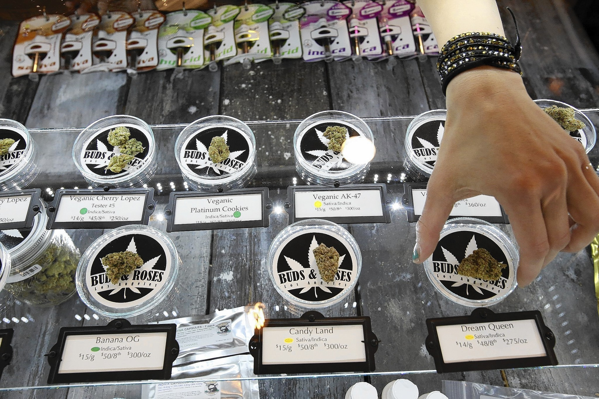 Right brand name gives marijuana strain a higher value