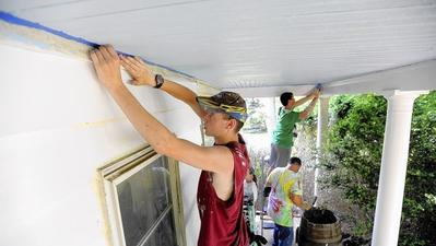 Camp Wesley youths use summer vacation to help community