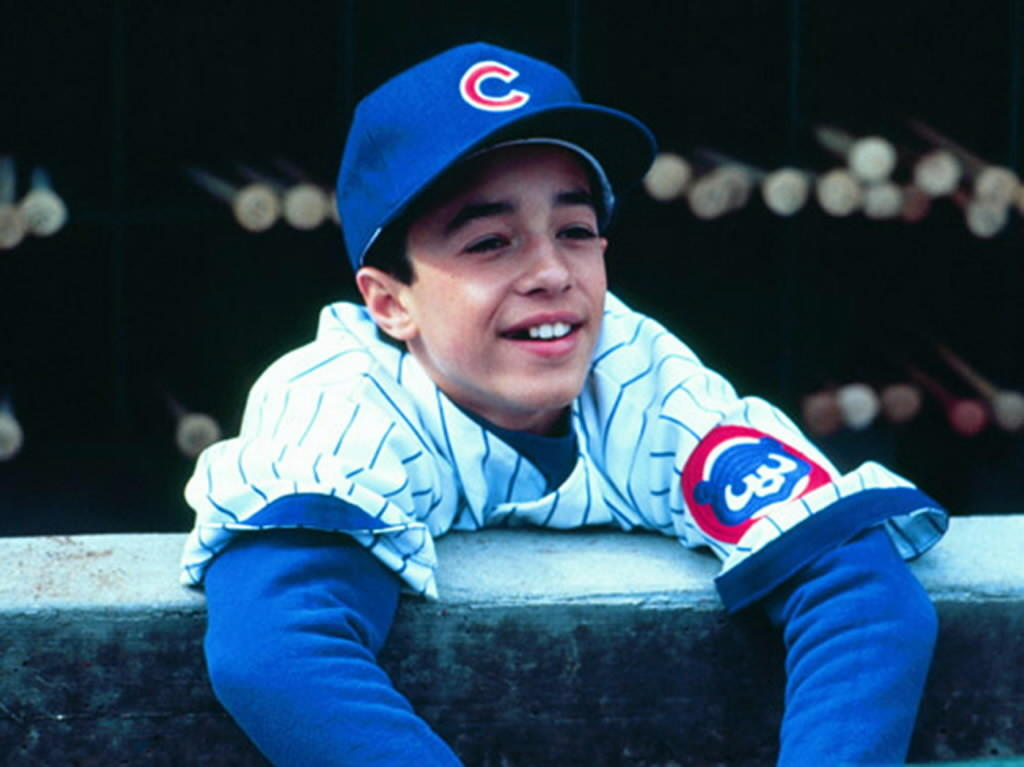 """Thomas Ian Nicholas in the film """"Rookie of the Year."""""""
