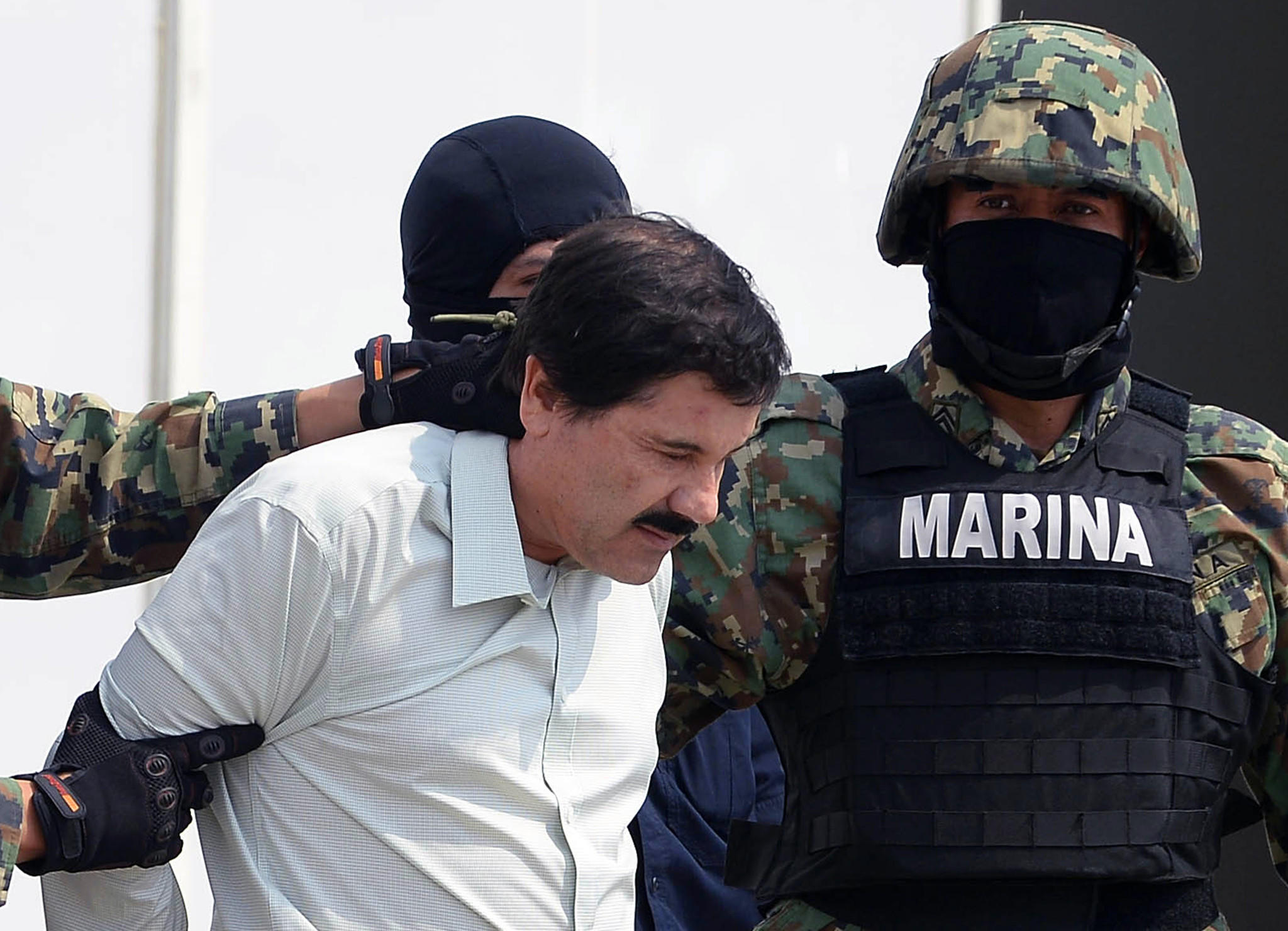 """Arechiga-Gamboa handled transportation and logistics for Joaquin """"Shorty"""" Guzman, pictured here, the world's most wanted drug lord who was captured earlier this year in collaboration with U.S. agents."""