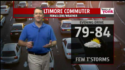 Commuter forecast for Friday [Video]