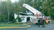 Suffield Family Escapes Overnight Fire