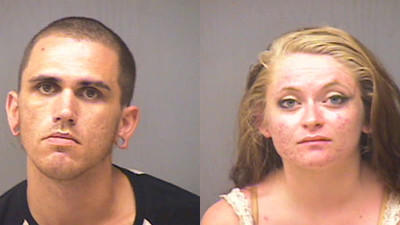 Thomas Birkbeck Jr., 28, And Alexis D. Chidester, 18, were charged with possession of heroin and possession of heroin with intent to sell.