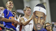 LeBron James decides to return to the Cleveland Cavaliers