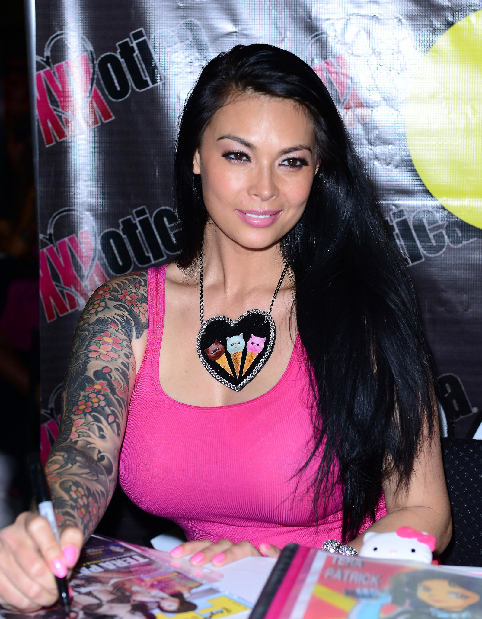 Tera Patrick appears at Exxxotica 2014 in Fort Lauderdale. (Photo by Vallery Jean/FilmMagic)