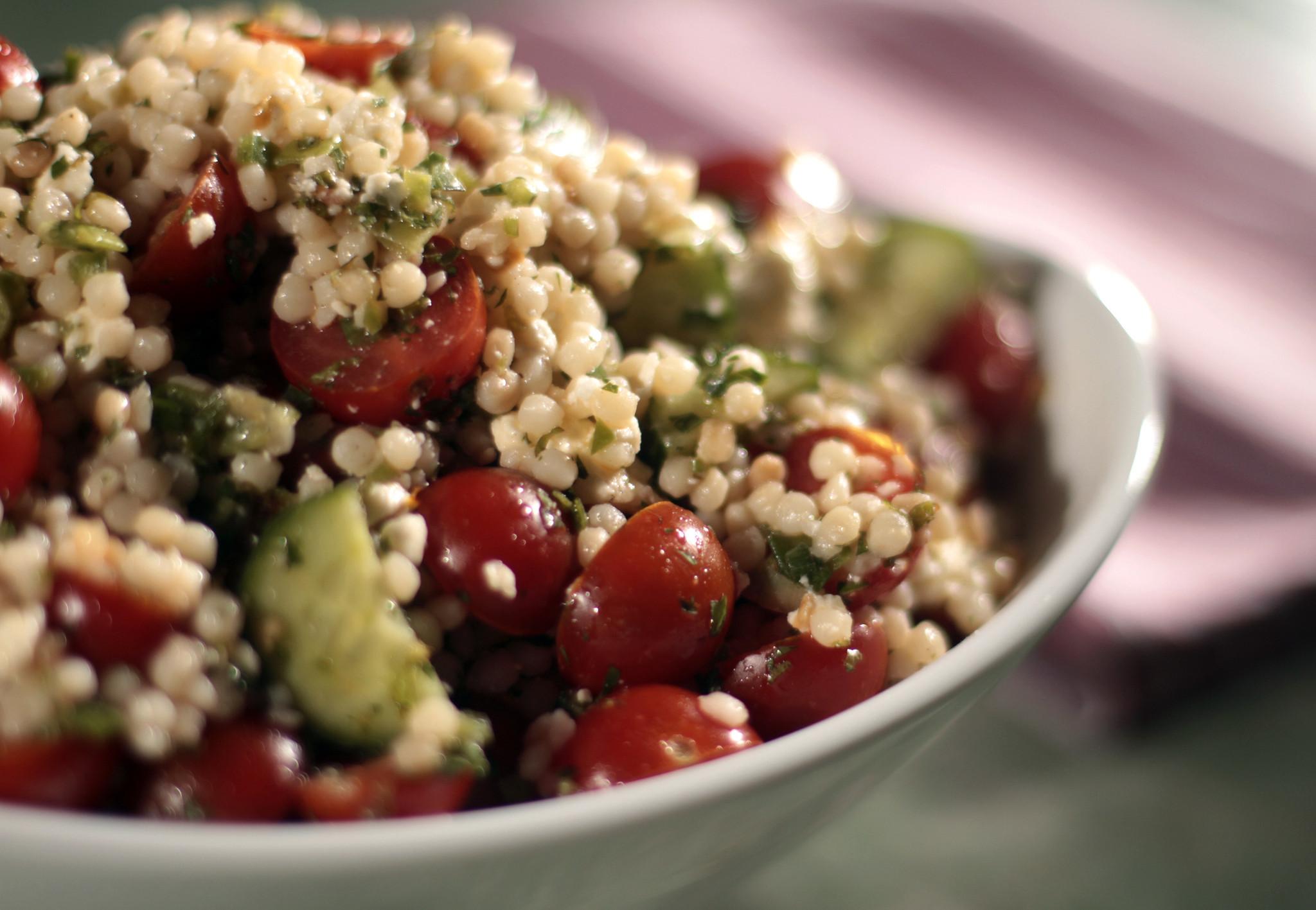 Grain salad convert sings the praises of quinoa, farro and couscous ...