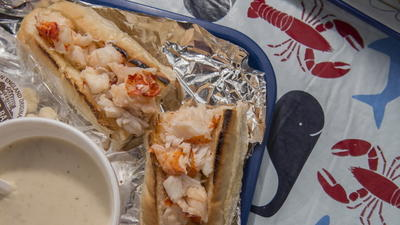 Hot Or Cold, Lobster Rolls Are Worth The Drive