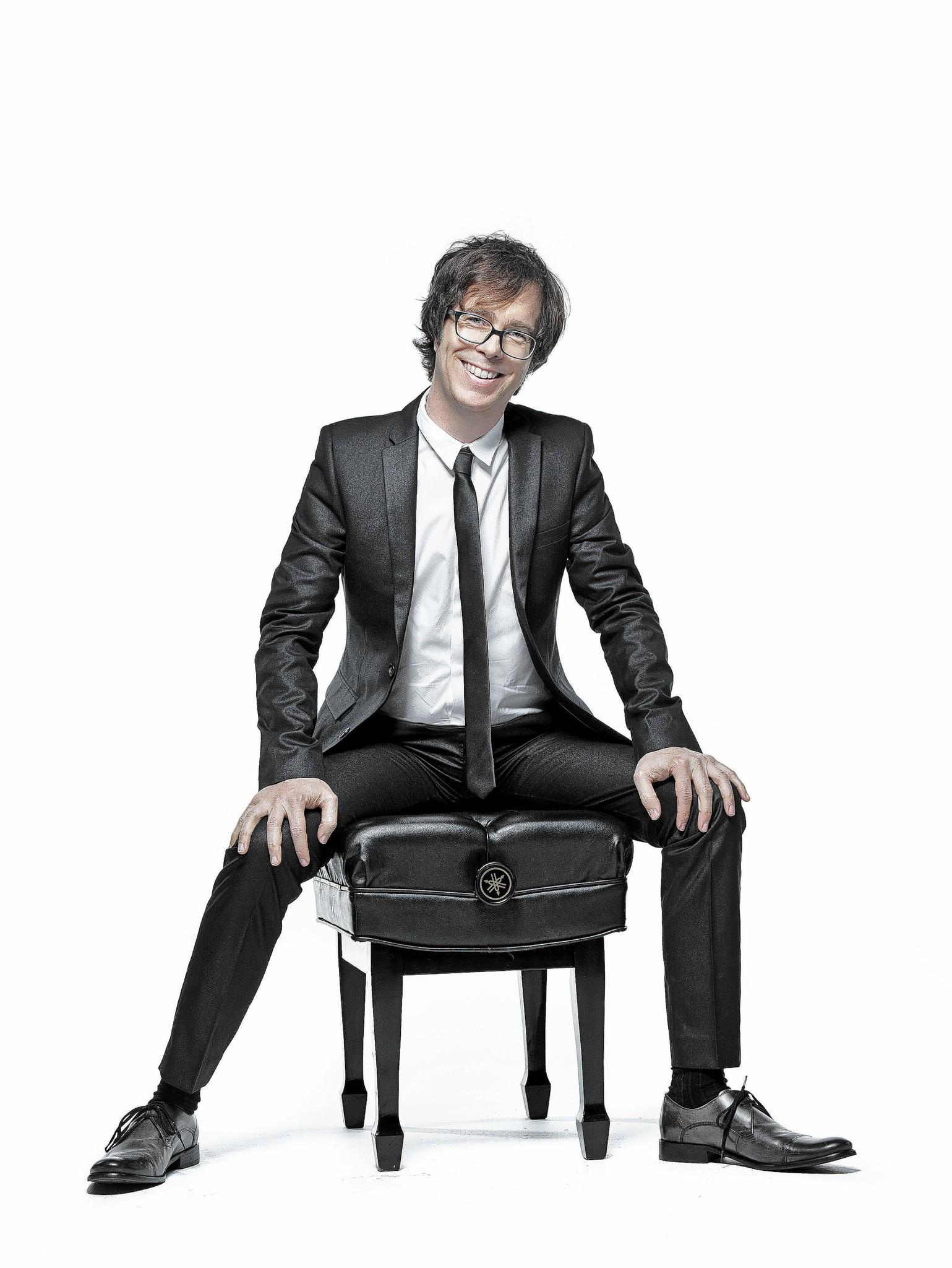 Singer/songwriter/pianist Ben Folds performs with the BSO on July 17.