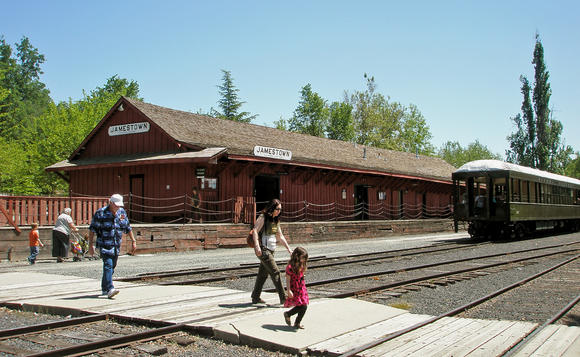 The Railtown 1897 State Historical Park