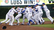 Cubs in celebratory mode after 5-4 victory