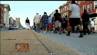 300 Man March takes to the streets of Baltimore [WJZ Video]