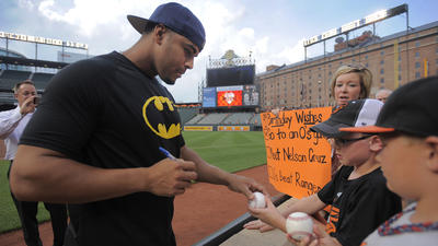 After a tumultuous year, red-hot Orioles outfielder Nelson Cruz has never been happier