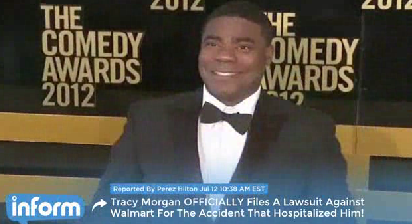 Tracy Morgan leaves rehab, sues Wal-Mart over deadly crash
