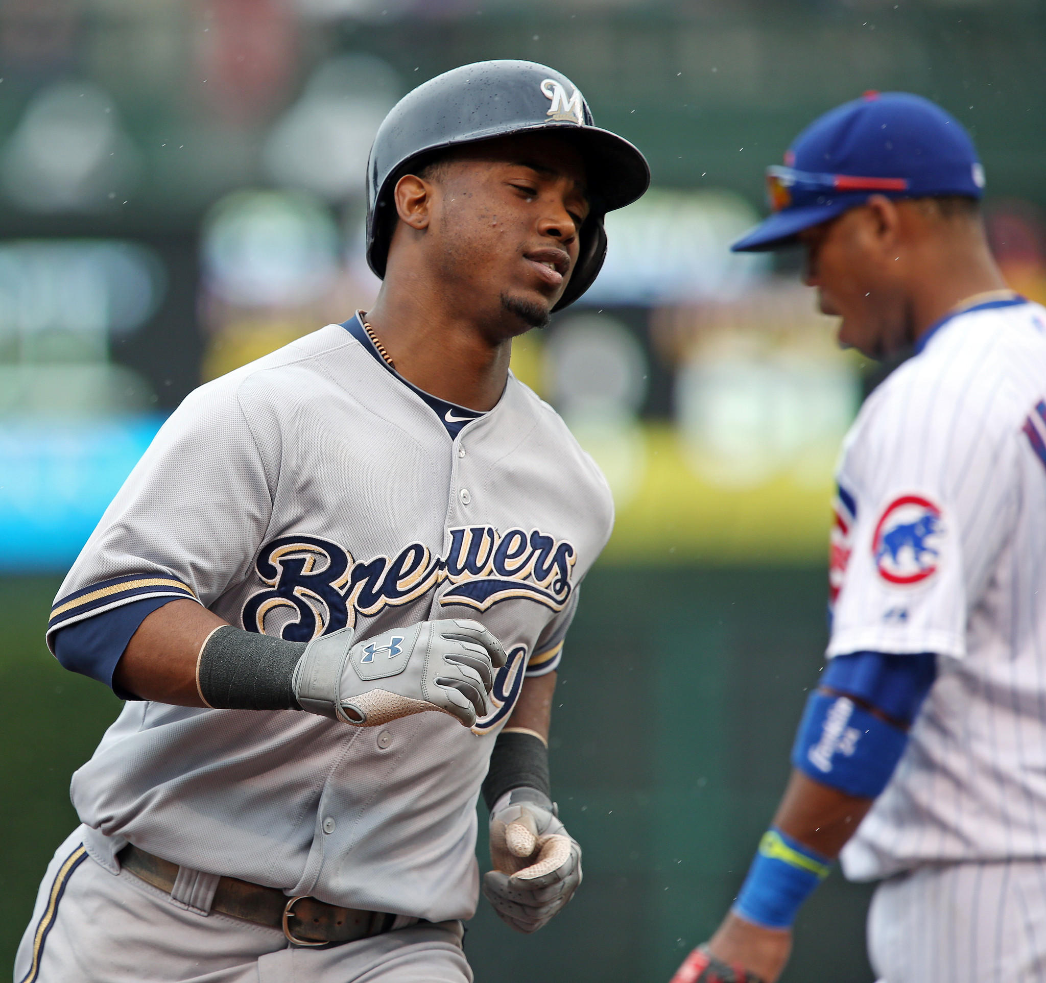 Jean Segura has left the Brewers after learning his 9-month-old son died.