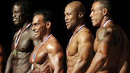Photos: fitness and figure competition