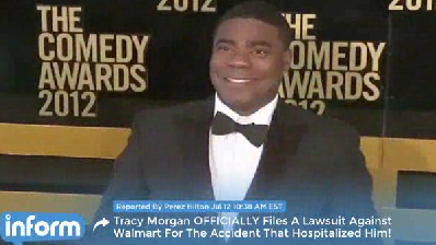 Tracy Morgan files lawsuit against Walmart [Video]