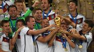 Germany wins fourth World Cup title by beating Argentina, 1-0