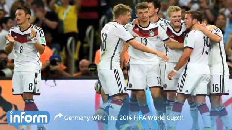 Germany wins World Cup [Video]