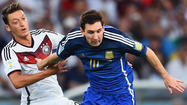 Cry for Argentina? It played Germany evenly and could have won