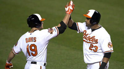 Orioles beat the New York Yankees, 3-1, in rain-shortened game to end first half
