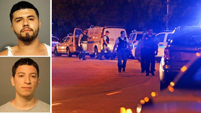 Four officers injured in Montrose Beach melee