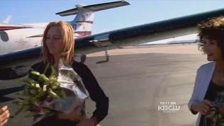 Video: Amelia Earhart namesake completes round-the-world flight