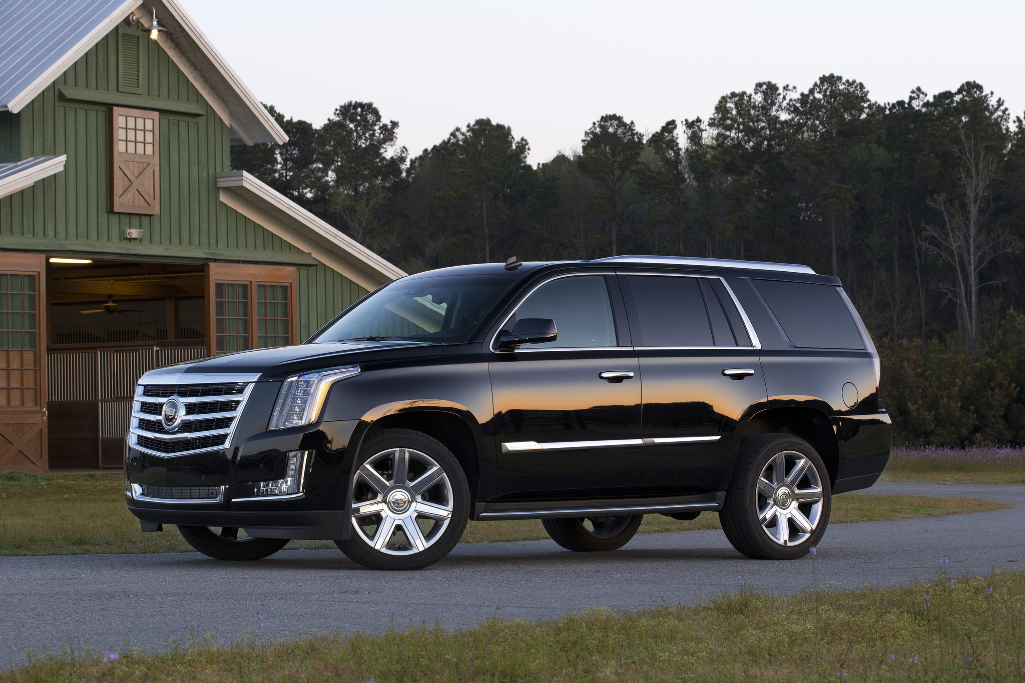 First Times Drive Cadillac S Escalade Can T Hide Humble