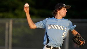 Warhill grad Michael Brumfield shining on mound, this time with Williamsburg Post 39