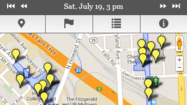 NOWScape: Artscape events mapped hour by hour