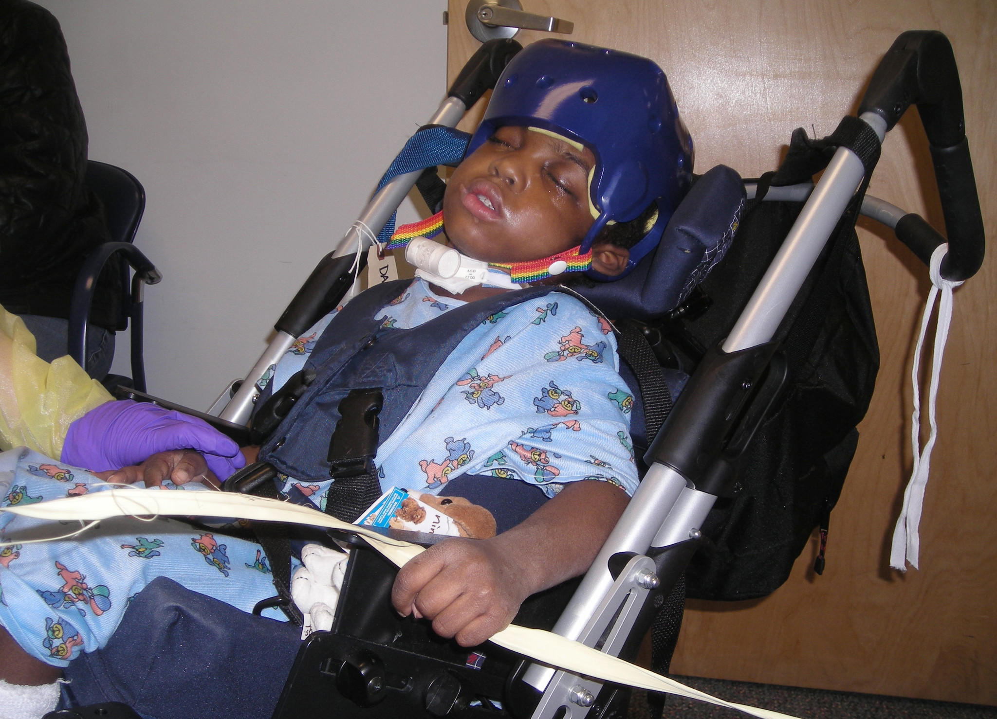 Damaud Martin, shown in 2008, was diagnosed as suffering from shaken baby syndrome, according to the Baltimore Department of Social Services.