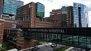 Hopkins Hospital bumped from top spot to No. 3 on U.S. News ranking