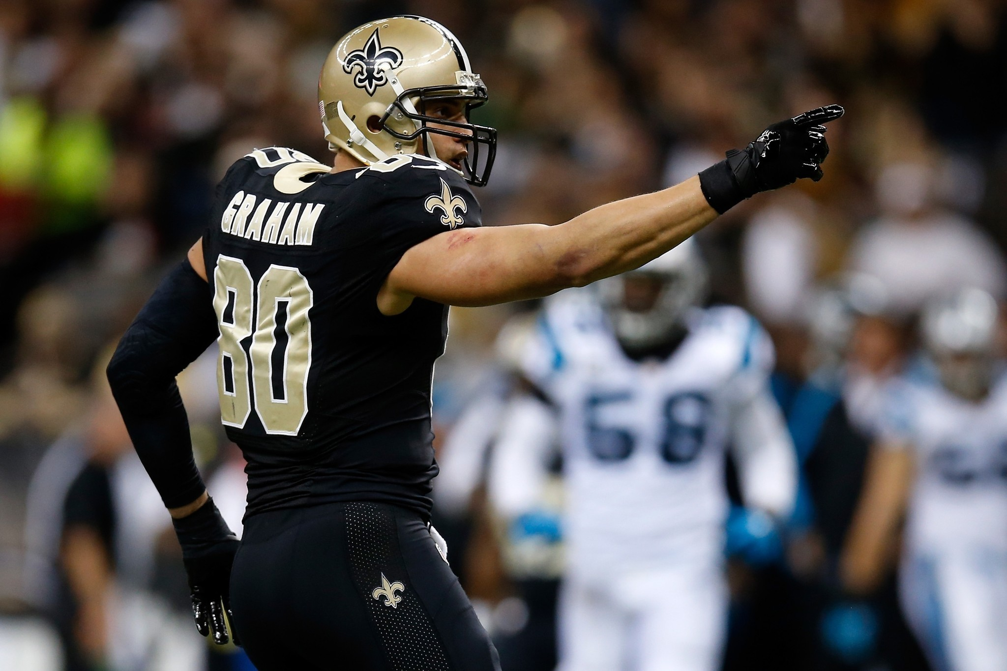 Jimmy Graham and Saints agree to record contract LA Times