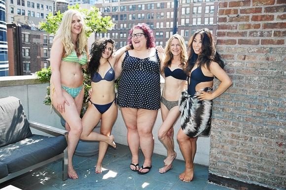 xoJane editors in swimsuits