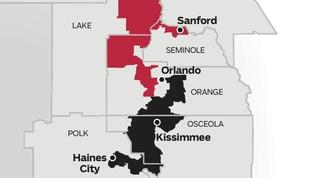 Florida Legislature opts to re-draw Central Florida congressional map