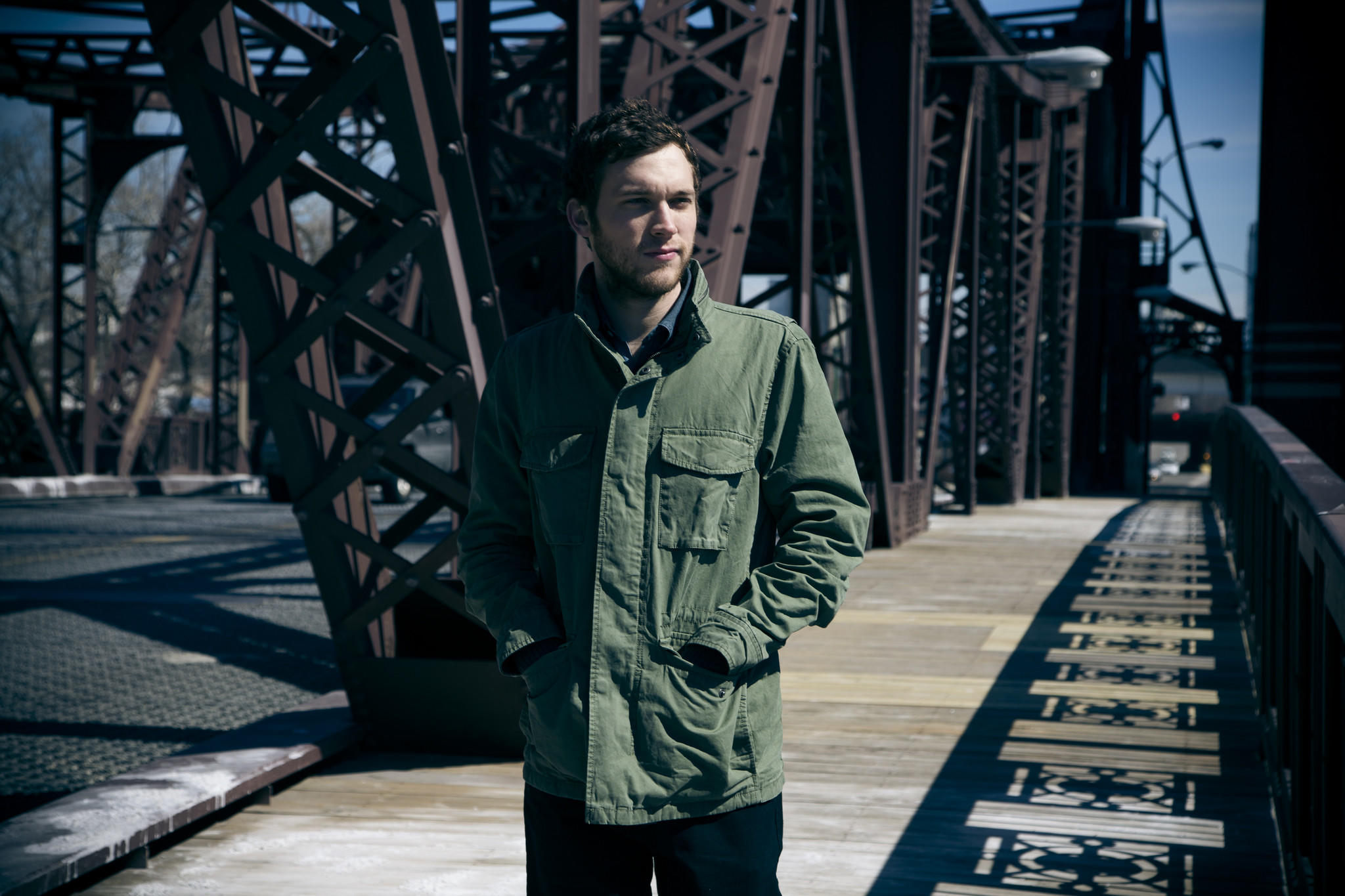 "Singer-songwriter and ""American Idol"" winner Phillip Phillips."