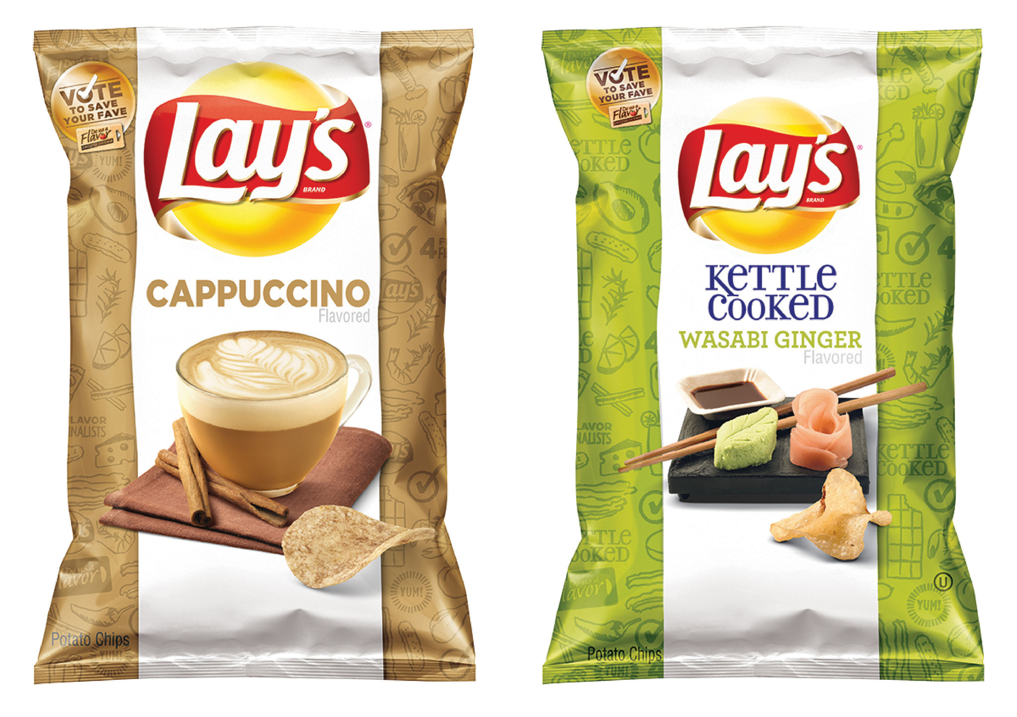 omg lays wavy milk chocolate covered potato chips are