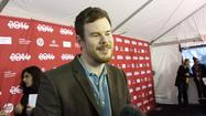 'Happy Christmas' director Joe Swanberg on the red capet at Sundance